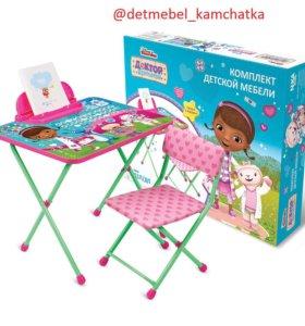 Комплект детской мебели Disney «Доктор Плюшева»