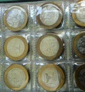 Колекция монет. Монет намного больше  чем на фото.