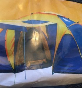 Палатка с тамбуром 2 комнаты
