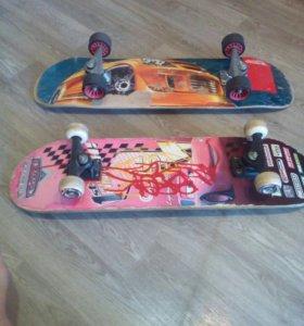 Продам два скейта