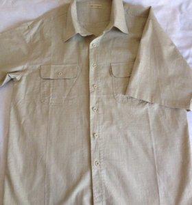 Рубашка льняная новая