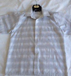 Рубашка хлопковая, б/у