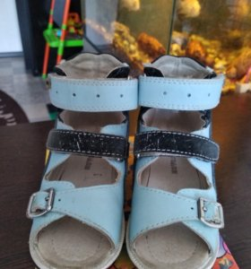 Ортопедические сандали,24 разм