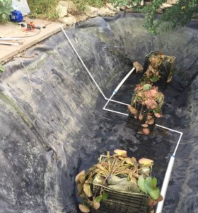Аэратор для пруда, подача воздуха в пруд