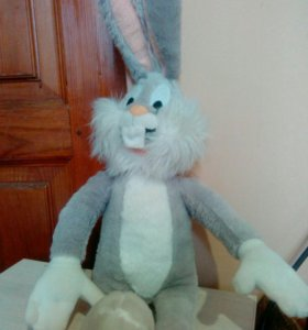 Игрушка заяц BugsBunny