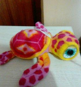 Игрушка плюшевая черепаха