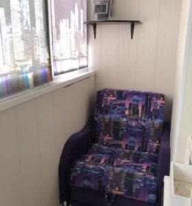 Кресло кровать 2в1 с ящиком