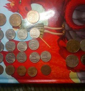 10 рублей 1993 года (М и Л)