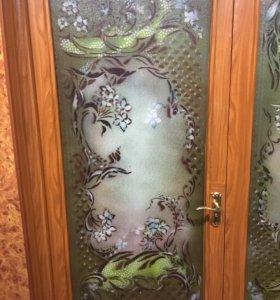 Стекло/витрина/дверь