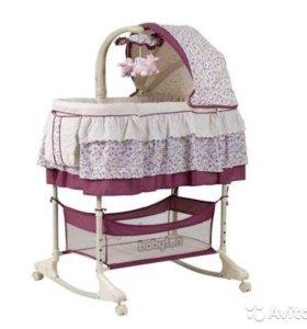 Кроватка люлька Babyton