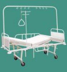 Новая кровать Мед 3-х секц на колесах с матрасом