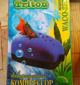 Компрессор аквариумный Triton