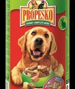 Консервы для собак 1240 гр.