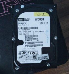 Western Digital WD800 80Gb