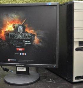 Компьютер в сборе-2ядра/3гига/GeForce 9600,1gb