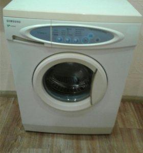 Узкая стиральная машина Самсунг. Доставка.