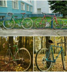 Ремонт велосипедов ХВЗ, ММВЗ, ПВЗ и т.п.