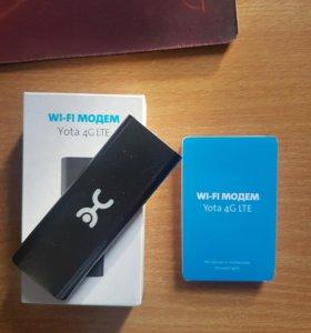 Wi-Fi Модем yota 4G LTE