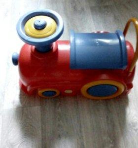 Детский паровозик