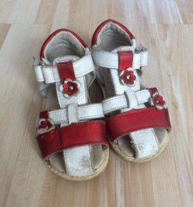 сандали кожа 21 размер
