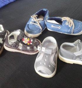 Новая обувь на малыша