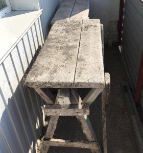Строительные столы