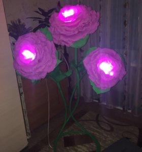 Цветок-светильник