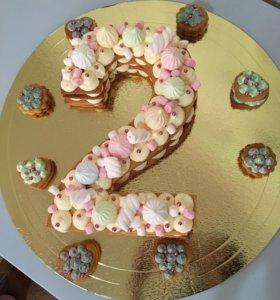 Торт Цыфра
