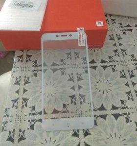 Продам закалкнное стекло доя XiomiRedmi 4x5 плюс5