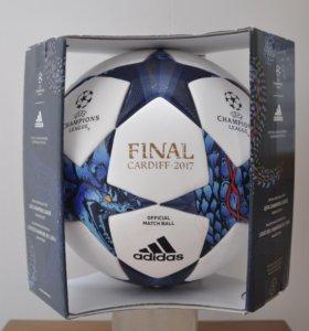Футбольный мяч Адидас Кардифф 2017 в коробке