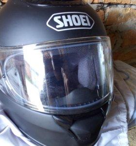 Шлем интеграл Shoei Qwest черный матовый