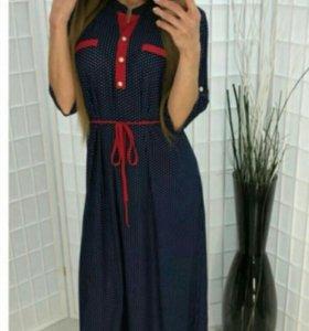 Новое платье.Размеры 50—60.