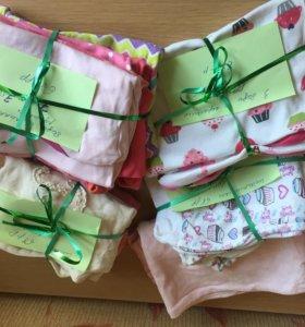 Пакет одежды на девочку с 3 до 7 месяцев