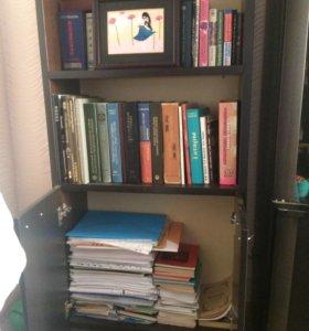 Шкафчик для книг с полками