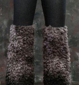 меховые брюки новые