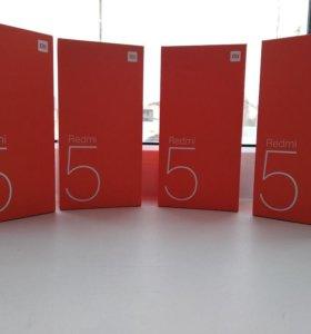 Xiaomi  редми 5  32 ГБ новый