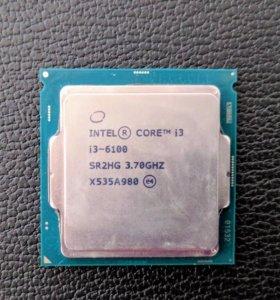 DualCore Intel Core i3-6100, 3700 MHz
