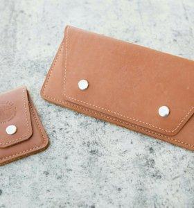 Продам новый женский кошелек из натуральной кожи