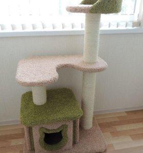 Изготовлю комплексы и когтеточки для кошек