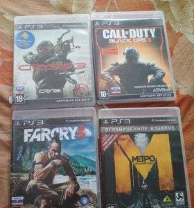 4 игры на PS3