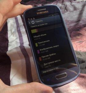 Samsung Galaxy S3 mini, полностью рабочий