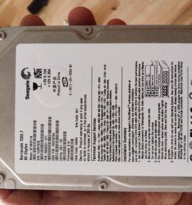 Hdd жесткий диск 80гб.