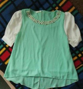 Блузка-туника для беременной