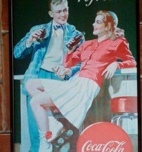 Плакат Coca-Cola