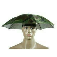 Зонт на голову для рыбалки, дачи, пикника.