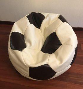 Кожаное кресло-мяч