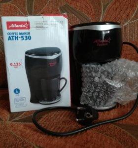 Кофеварка Atlanta ATH-530 Black