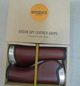 Грипсы кожаные Brooks Ergon GP1