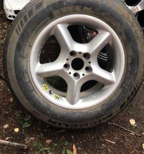 Одно колесо R17 для бмв