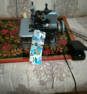 Швейная машинка- оверлок